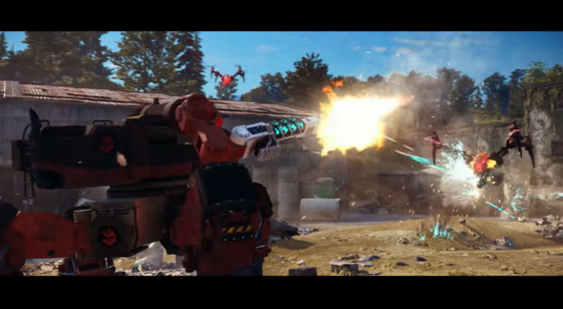 Трейлер Just Cause 3 к выходу DLC Mech Land Assault