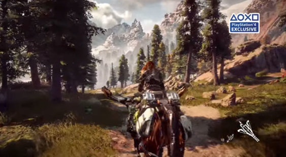 Геймплей Horizon Zero Dawn - E3 2016