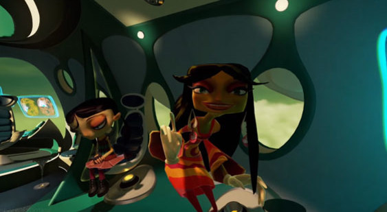 Геймплей Psychonauts in the Rhombus of Ruin для PS VR - E3 2016