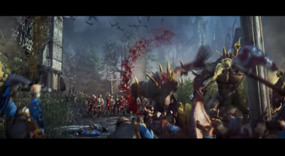 Трейлер Total War: Warhammer - DLC Blood for the Blood