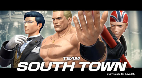 Трейлер The King of Fighters 14 - Team South Town
