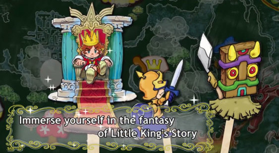 Трейлер анонса Little King's Story для PC
