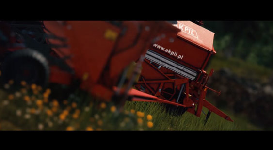 Тизер-трейлер анонса Pure Farming 17: The Simulator