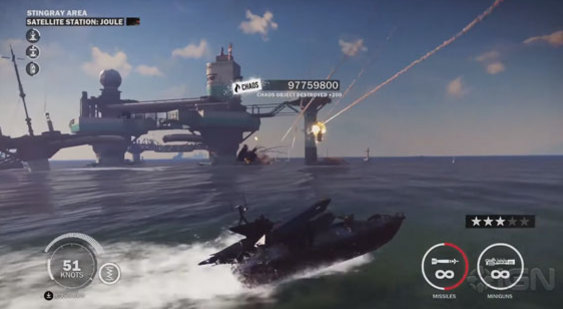 Геймплей Just Cause 3 - DLC Bavarium Sea Heist