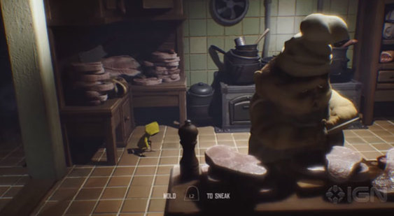 Демонстрация геймплея Little Nightmares - Gamescom 2016