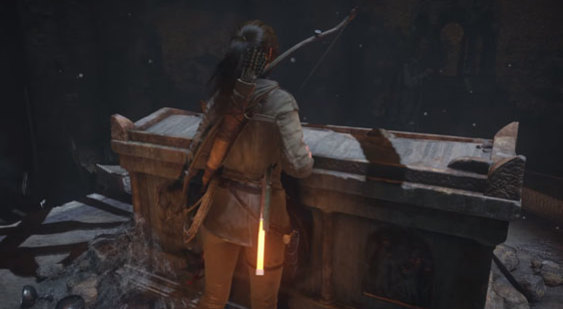 Видео Rise of the Tomb Raider на PS4 Pro - PlayStation Meeting 2016