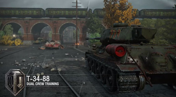 Трейлер World of Tanks на PS4 - 100-летие танков