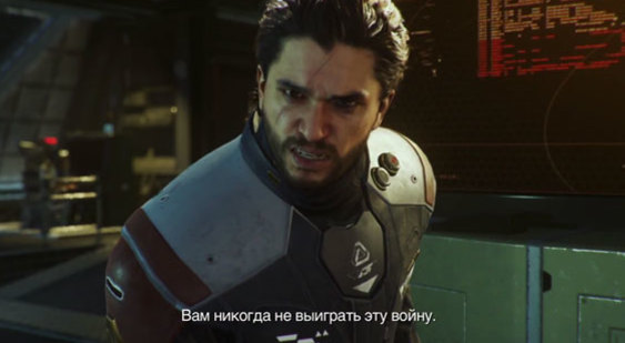Кит Харрингтон появился втрейлере Call ofDuty: Infinite Warfare