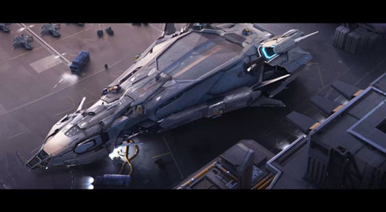 Трейлер Star Citizen - RSI Polaris