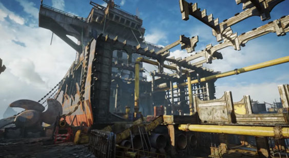 Трейлер Gears of War 4 - карта Drydock