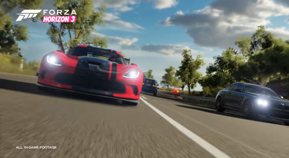 Трейлер Forza Horizon 3 - AlpineStars Car Pack