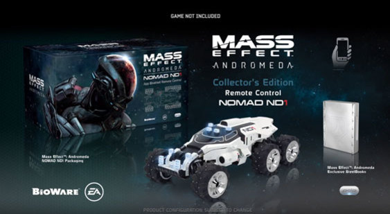 Видео Mass Effect: Andromeda - PDP Collector's Edition Remote Control Nomad ND1