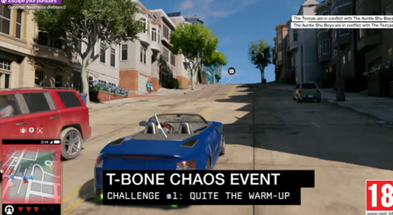 Трейлер Watch Dogs 2 - T-Bone Chaos Event