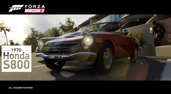 Трейлер Forza Horizon 3 - Playseat Car Pack