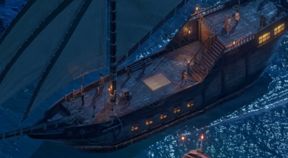 Видео Pillars of Eternity 2: Deadfire - корабли