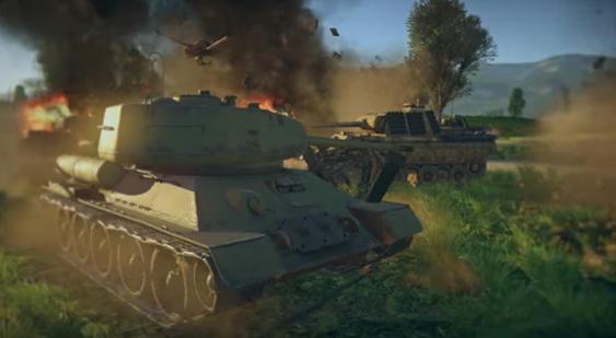 В игре War Thunder появился новый кооперативный режим