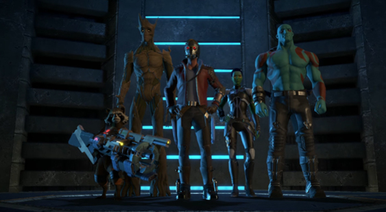 Первый трейлер Guardians of the Galaxy: The Telltale Series