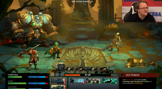 Демонстрация Battle Chasers: Nightwar с PC Gamer Weekender