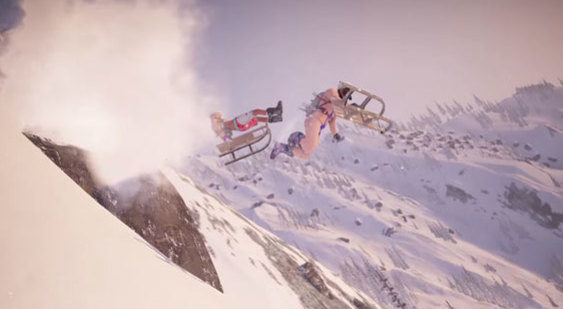 Тизер-трейлер Steep - DLC Winterfest