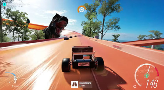 Геймплей Forza Horizon 3 к выходу DLC Hot Wheels