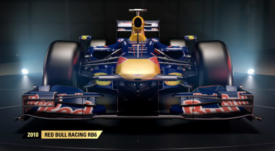 Видео F1 2017 - 2010 Red Bull Racing RB6