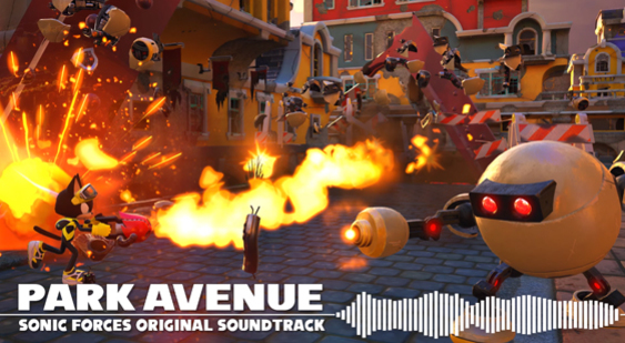 Саундтрек Sonic Forces - Park Avenue