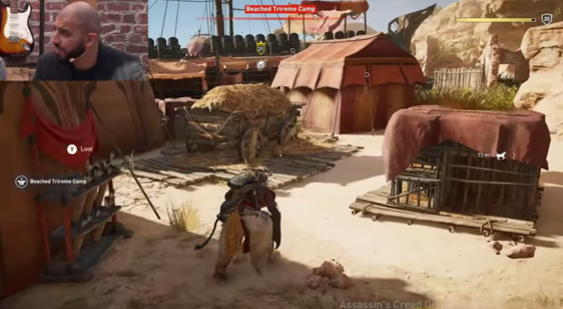 Демонстрация геймплея Assassin's Creed Origins - E3 2017