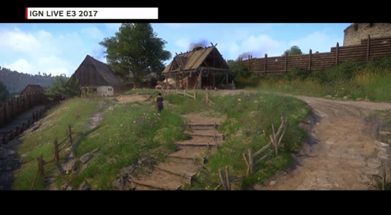Геймплей Kingdom Come Deliverance - E3 2017