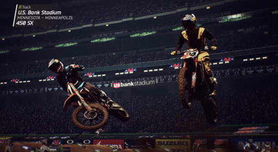 Трейлер Monster Energy Supercross - чемпионат