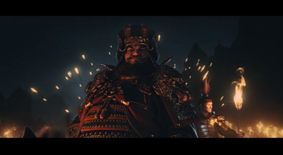 Трейлер анонса Total War: Three Kingdoms