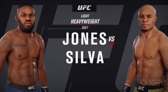 Геймплей EA Sports UFC 3 - Jon Jones vs Anderson Silva