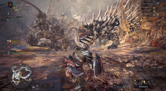 8 минут геймплея Monster Hunter: World - Rotten Vale
