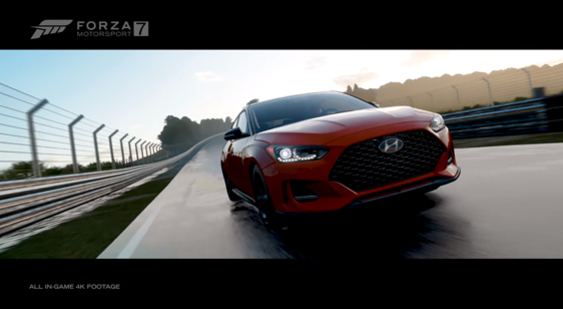 Трейлер Forza Motorsport 7 - Hyundai Car Pack