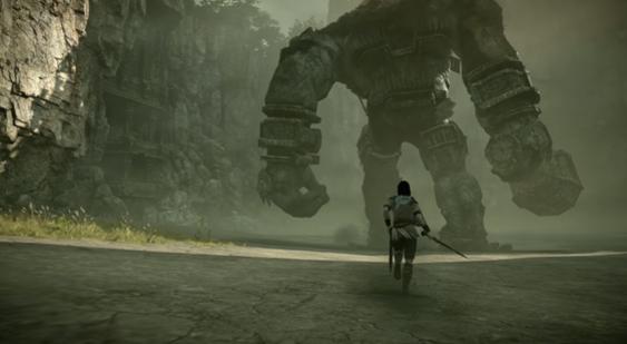 Вweb-сети интернет появились 15 мин. геймплея ремейка Shadow ofthe Colossus