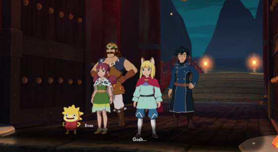 10 минут геймплея Ni no Kuni 2: Revenant Kingdom за Тани