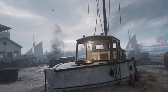 Видео Call of Duty: WW2 о карте Dunkirk