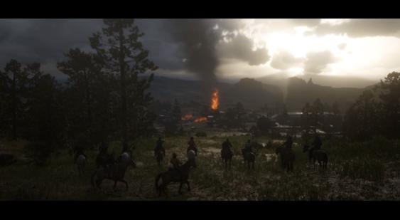 Третий сюжетный трейлер Red Dead Redemption 2