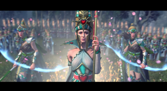 Трейлер Total War: Warhammer 2 - анонс DLC The Queen and the Crone