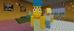 Трейлер Minecraft - The Simpsons Skin Pack для консолей Xbox